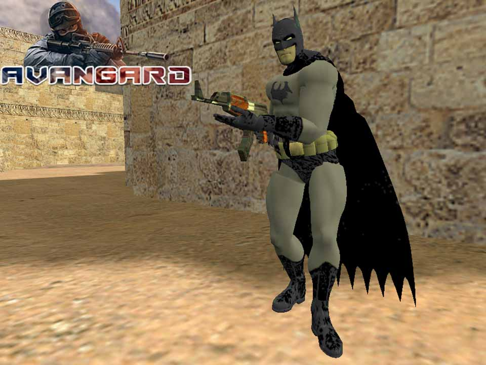 Модель игрока Batman для CS 1.6